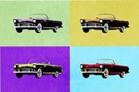 Pop Art Classics III Framed Print