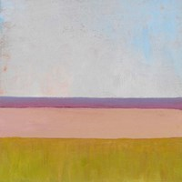 Beyond the Fields I Framed Print
