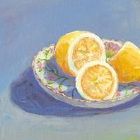 Still Citrus I Framed Print