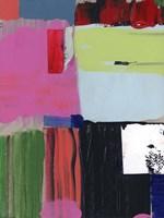 Pink Blocks II Framed Print