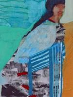 Walking Woman I Fine Art Print