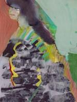 Walking Woman II Fine Art Print