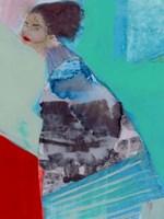 Walking Woman III Fine Art Print