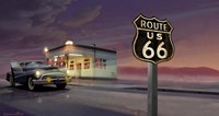 Route 66 Framed Print
