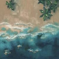 Blue Shore Fine Art Print