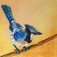 Blue Jay Blessing Fine Art Print