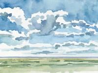 Open Sky Study I Framed Print