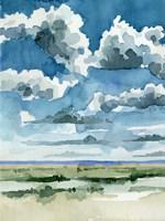 Western Skies II Framed Print