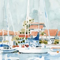 Beach Town Summer I Fine Art Print