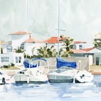 Beach Town Summer II Fine Art Print