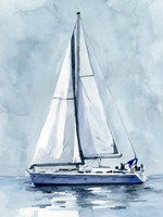 Lone Sailboat I Fine Art Print