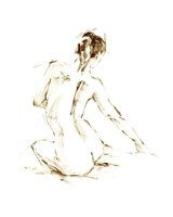 Drybrush Figure Study I Framed Print