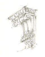 Corbel Sketch II Fine Art Print