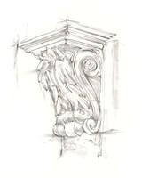 Corbel Sketch IV Framed Print