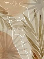 Terracotta Shadows I Framed Print