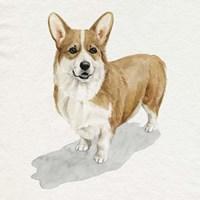 Pup for the Queen II Fine Art Print