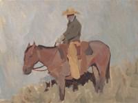 Ranch Hand II Framed Print