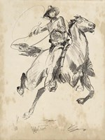 King of the Rodeo I Fine Art Print