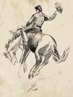 King of the Rodeo II Fine Art Print