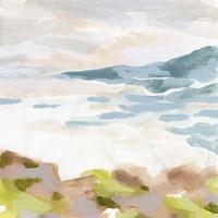 Pastel Shoreline II Framed Print