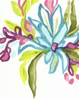 Tropical Sketch II Framed Print