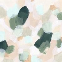 Pastel Facets II Framed Print