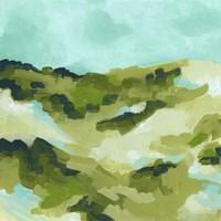 Spring Hillside I Framed Print