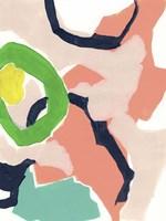 Color Current II Framed Print