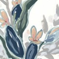 Expressive Garden I Framed Print