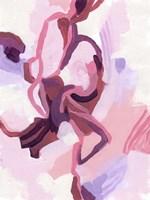 Gardenia Abstract I Framed Print