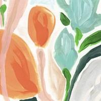 Primal Flora I Framed Print
