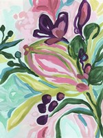 Tropic Expression I Framed Print