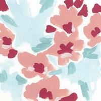 Cherry Blossom Pop II Framed Print