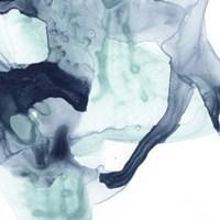 Blue Cavern III Framed Print