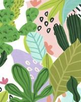Party Plants I Framed Print