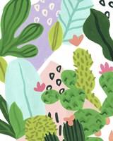 Party Plants IV Framed Print