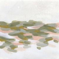 Hillside Impressions I Framed Print