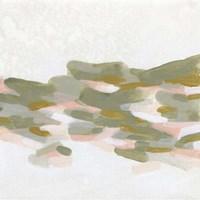 Hillside Impressions II Framed Print