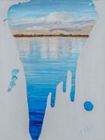 Running Water II Framed Print