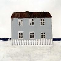 Beach Hut I Framed Print