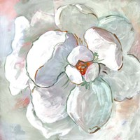 Contemporary Floral I Framed Print