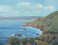 Rocky Coastline I Framed Print