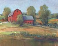 Country Barn I Framed Print