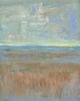 Evening Marsh I Framed Print
