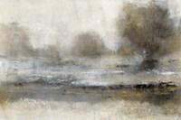 Gilt Landscape I Framed Print