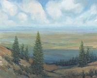Mountain Top II Framed Print