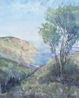 Scenic View II Framed Print