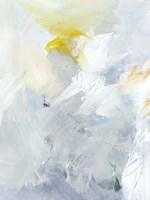 Canary and Sky II Framed Print