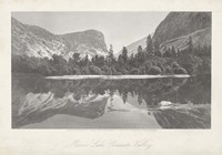 Mirror Lake, Yosemite Valley Fine Art Print