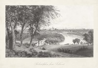 Philadelphia From Belmont Fine Art Print